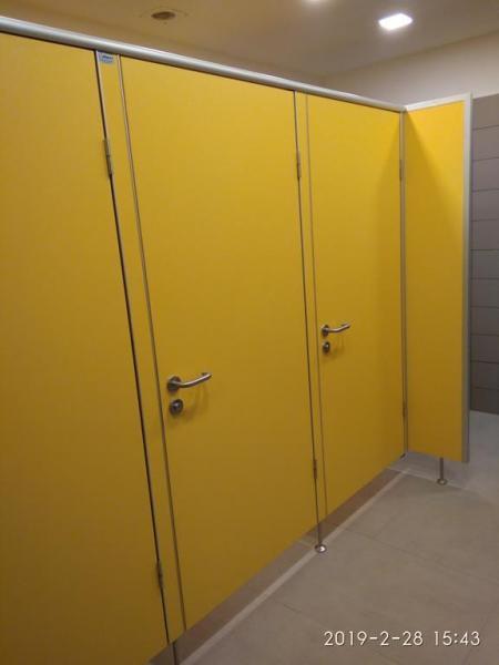 Systemy ścian działowych do sanitariatów i natrysków 11